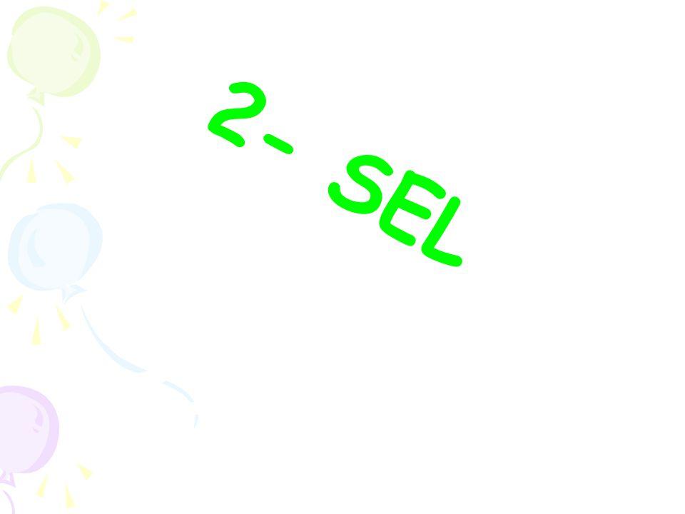 2- SEL