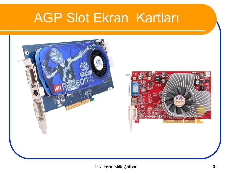 AGP Slot Ekran Kartları