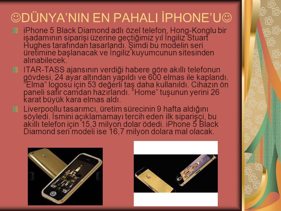 DÜNYA'NIN EN PAHALI İPHONE'U