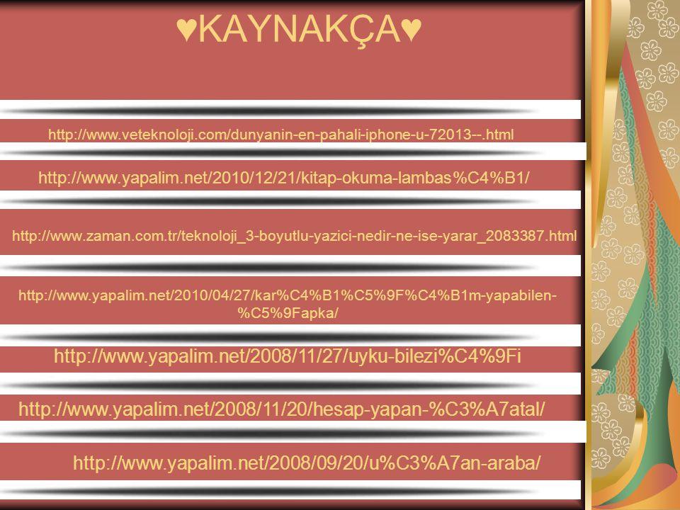 ♥KAYNAKÇA♥ http://www.yapalim.net/2008/11/27/uyku-bilezi%C4%9Fi