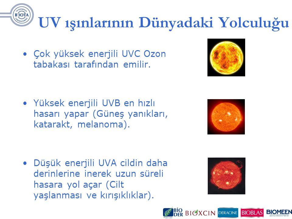 UV ışınlarının Dünyadaki Yolculuğu