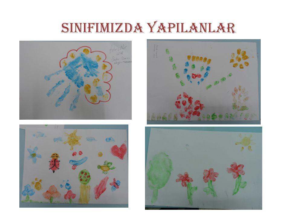 SINIFIMIZDA YAPILANLAR