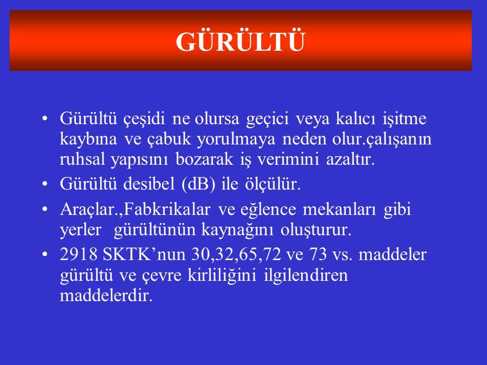 GÜRÜLTÜ