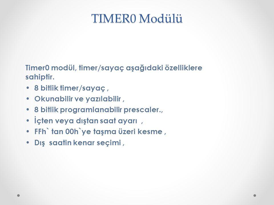 TIMER0 Modülü