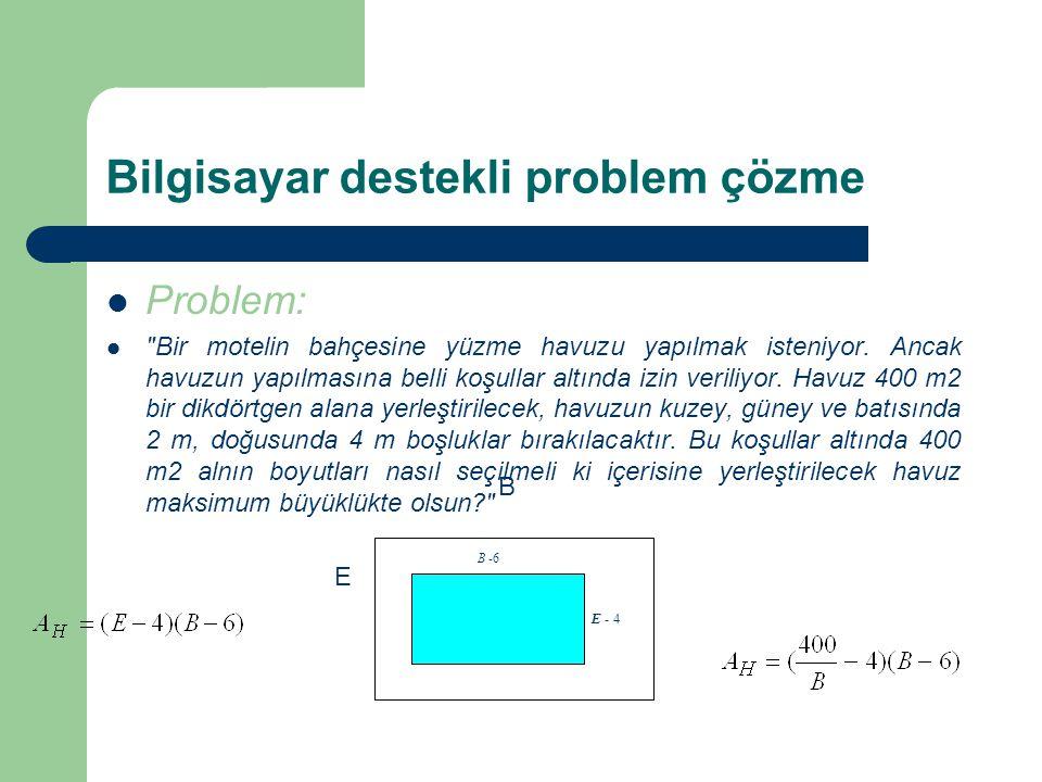 Bilgisayar destekli problem çözme