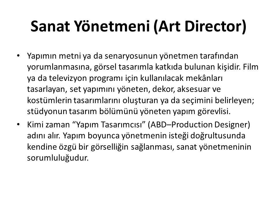 Sanat Yönetmeni (Art Director)