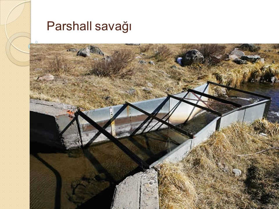 Parshall savağı