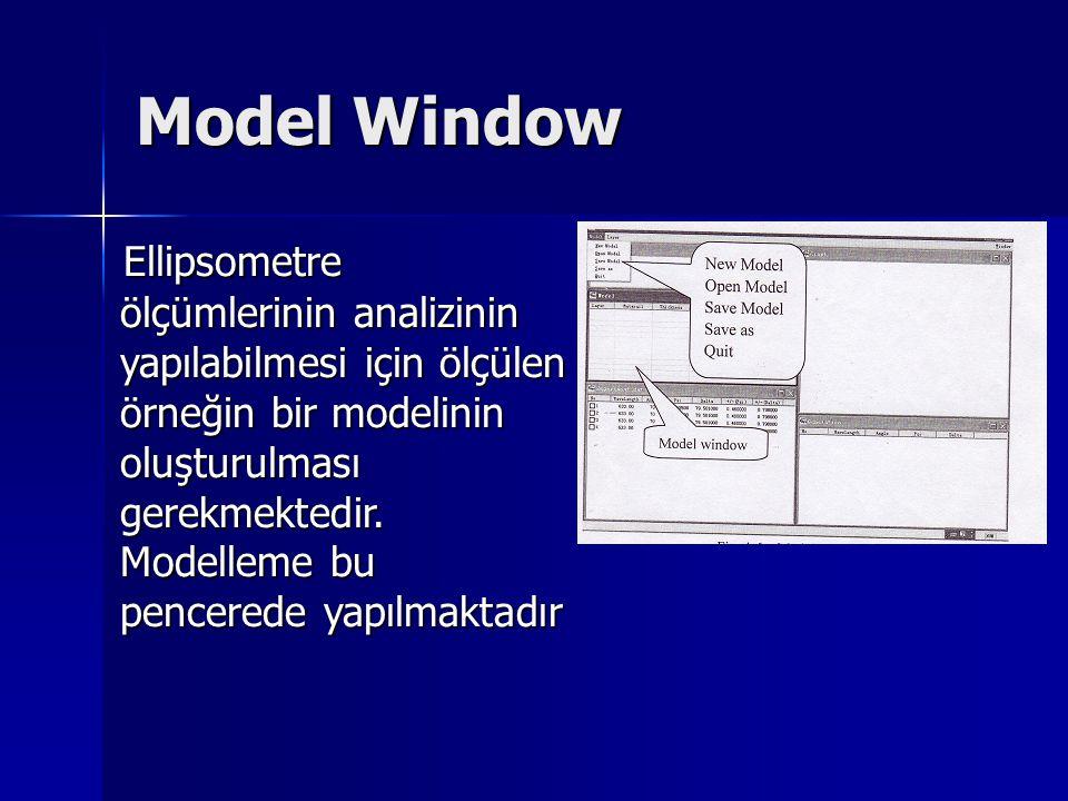 Model Window