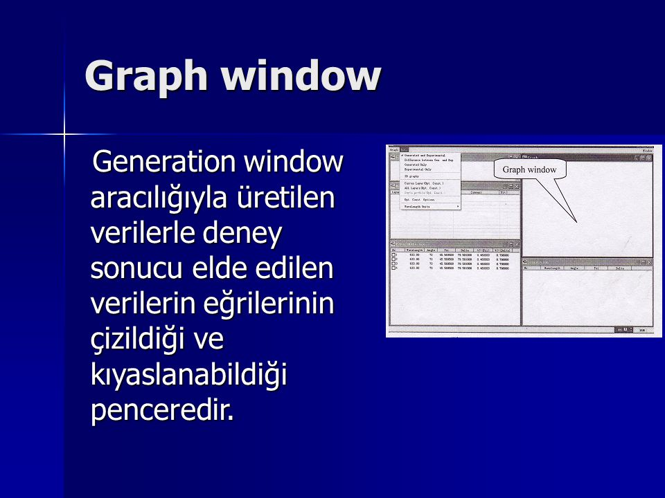 Graph window