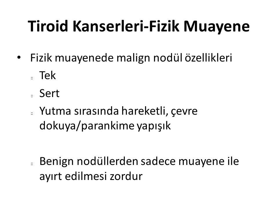 Tiroid Kanserleri-Fizik Muayene