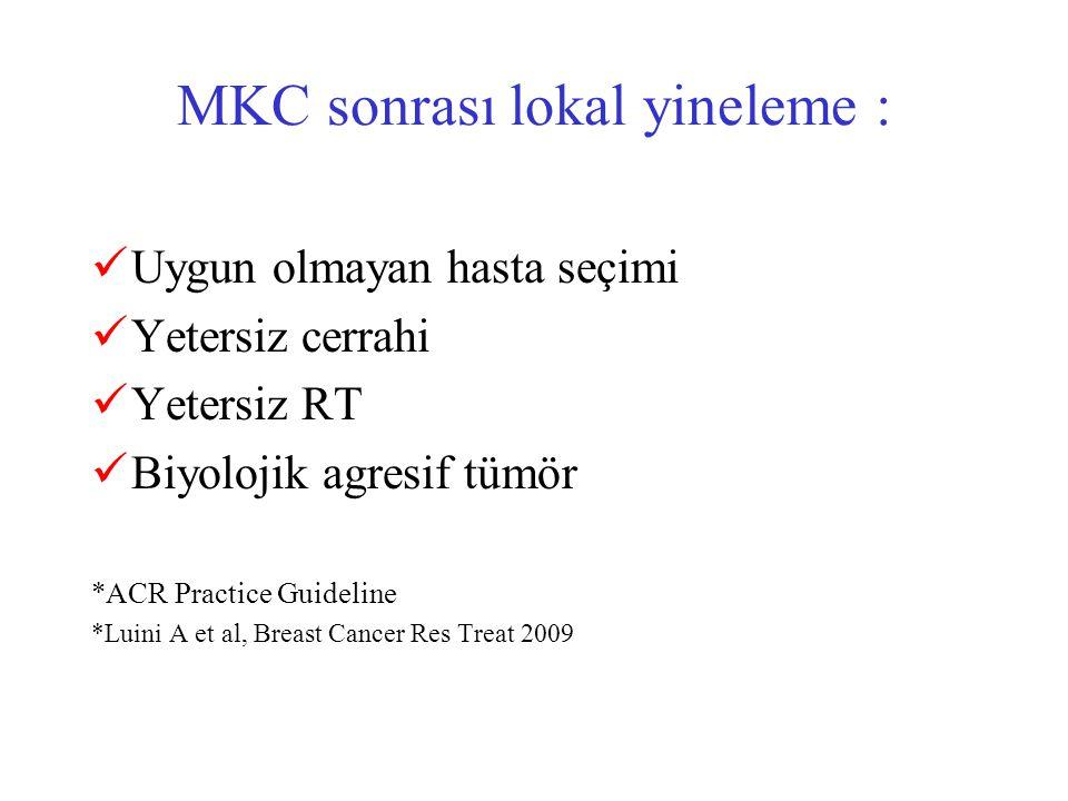 MKC sonrası lokal yineleme :