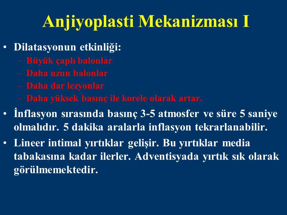 Anjiyoplasti Mekanizması I