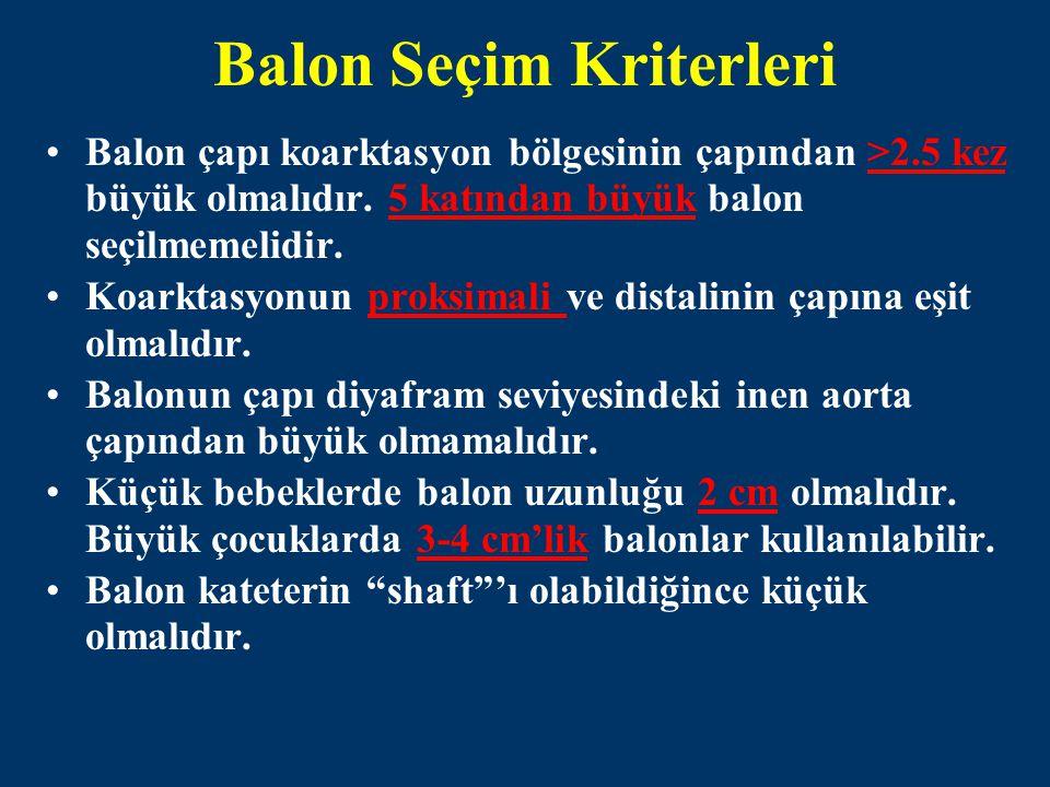 Balon Seçim Kriterleri