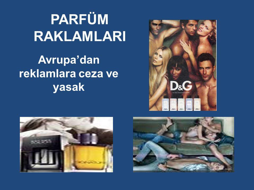 Avrupa'dan reklamlara ceza ve yasak