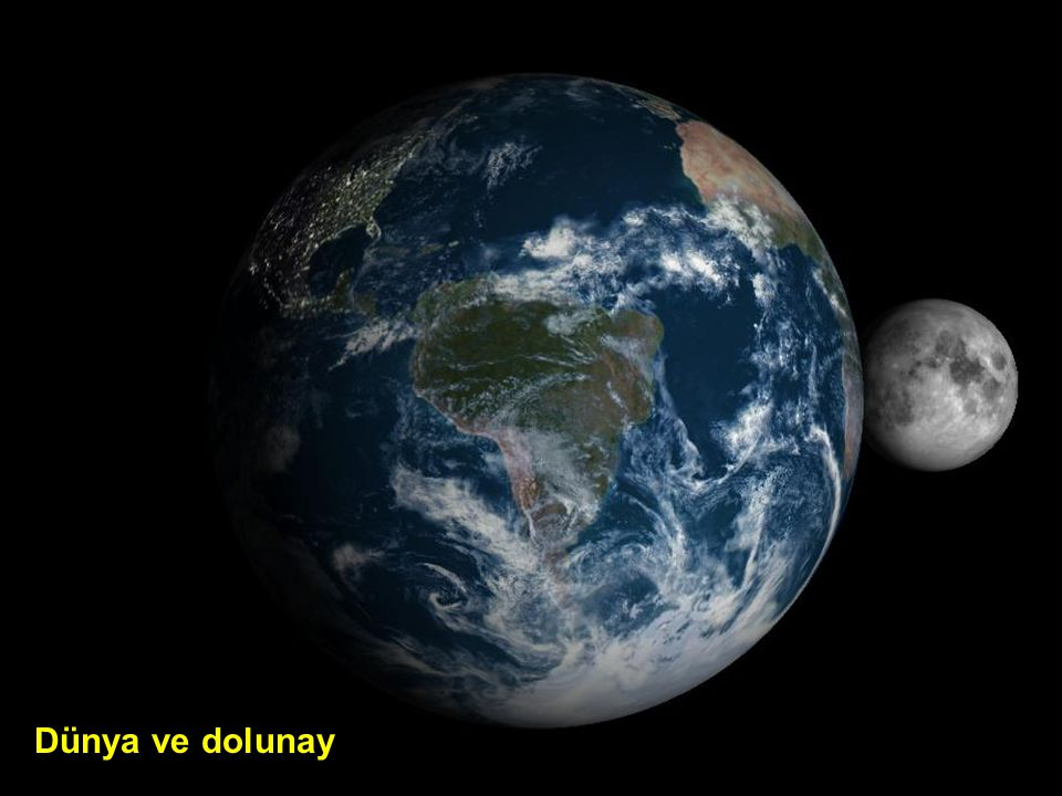Dünya ve dolunay