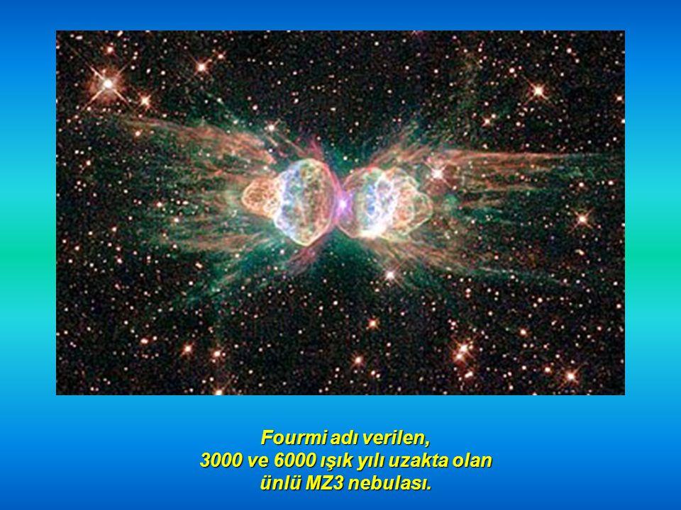3000 ve 6000 ışık yılı uzakta olan