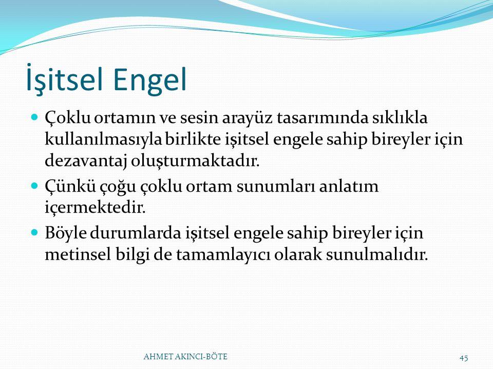 İşitsel Engel