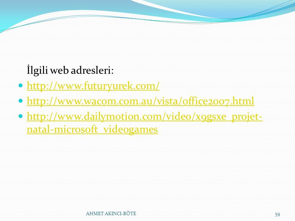 İlgili web adresleri: http://www.futuryurek.com/