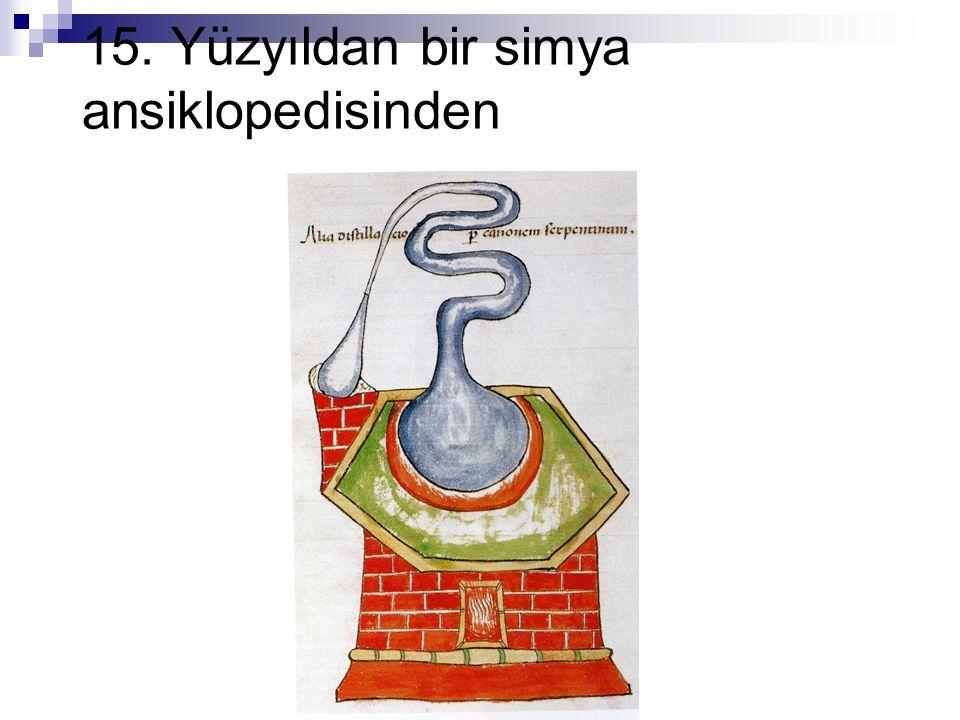 15. Yüzyıldan bir simya ansiklopedisinden