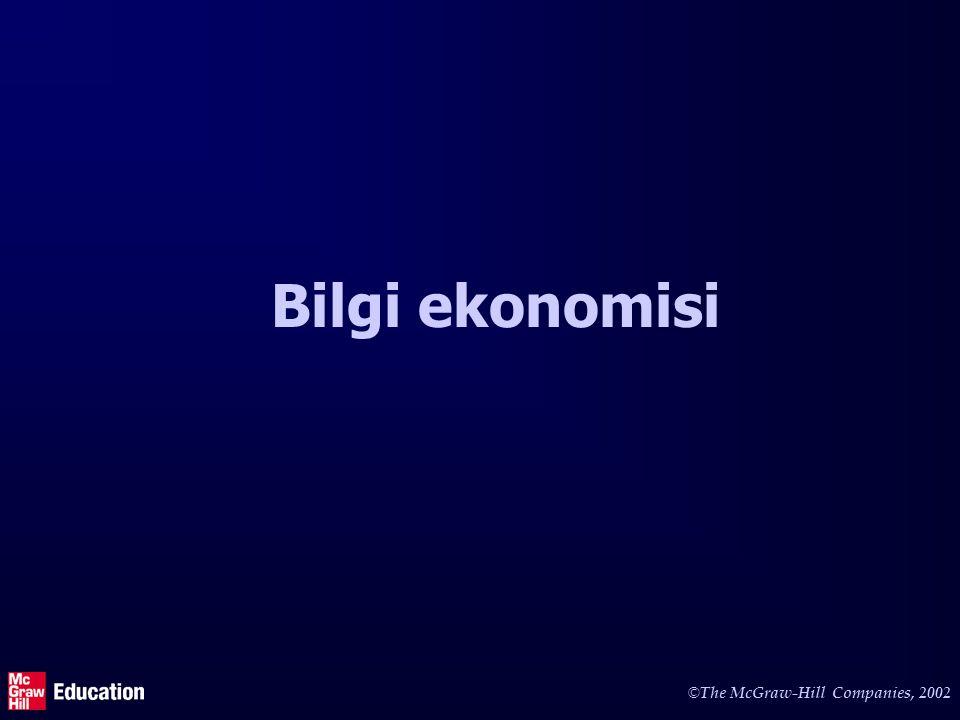 e-Ekonomi Bilgi devrimi