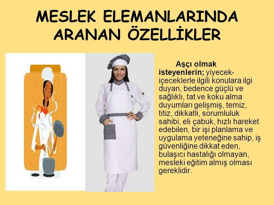 MESLEK ELEMANLARINDA ARANAN ÖZELLİKLER