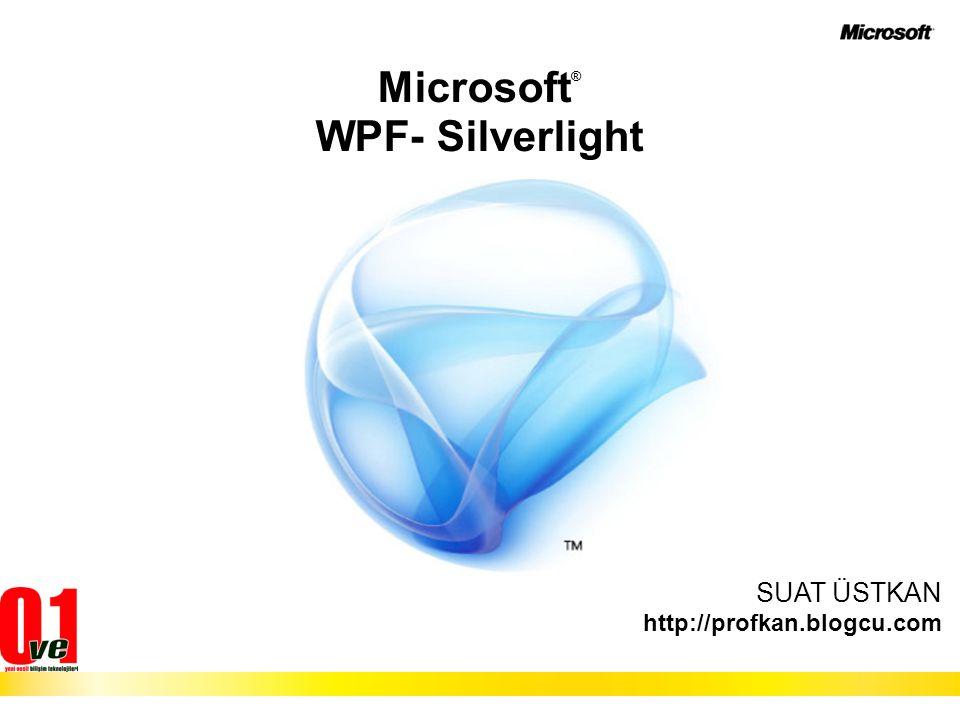 Microsoft® WPF- Silverlight