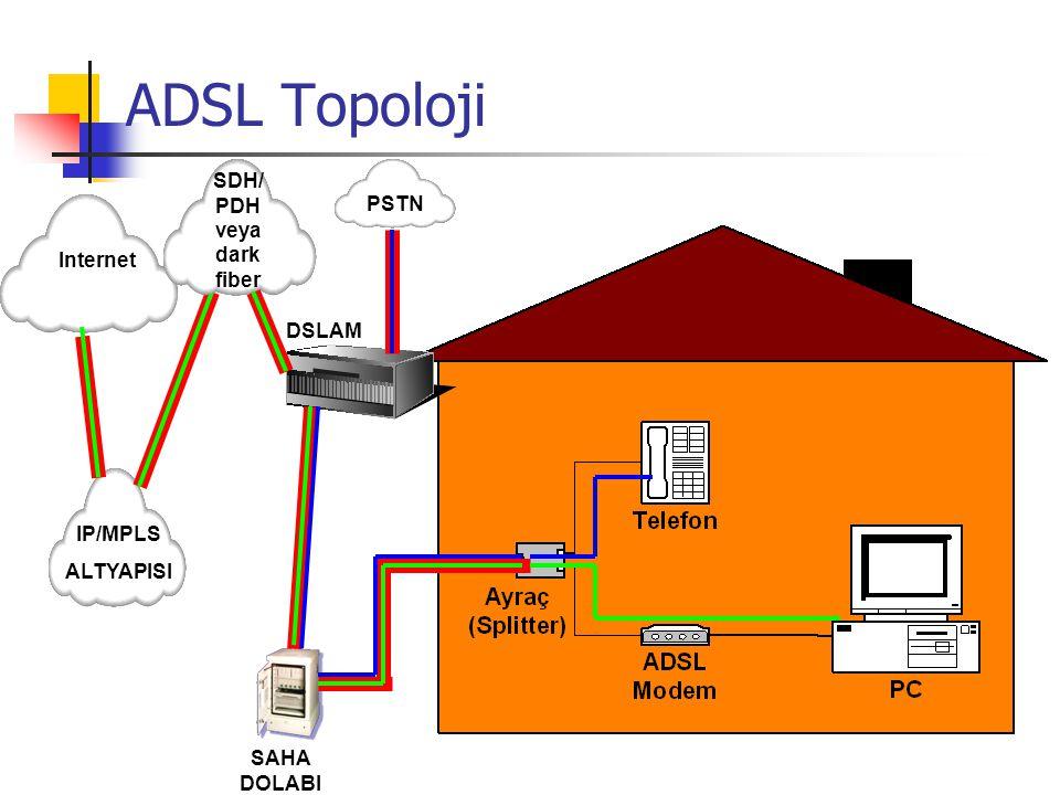 SDH/ PDH veya dark fiber