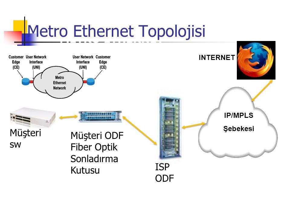 Metro Ethernet Topolojisi