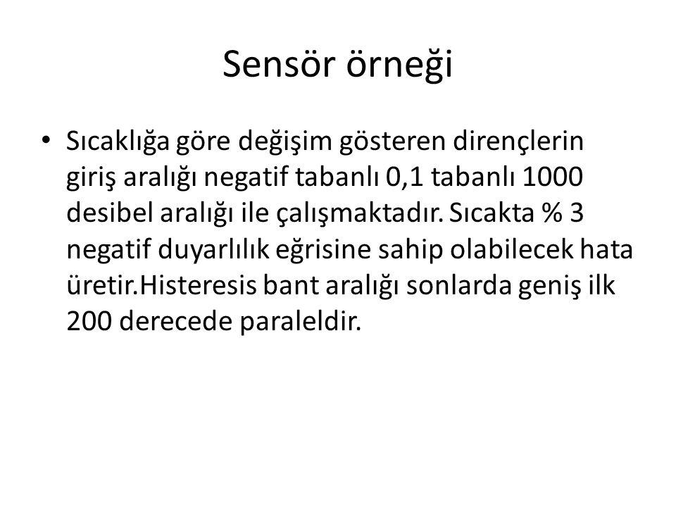 Sensör örneği
