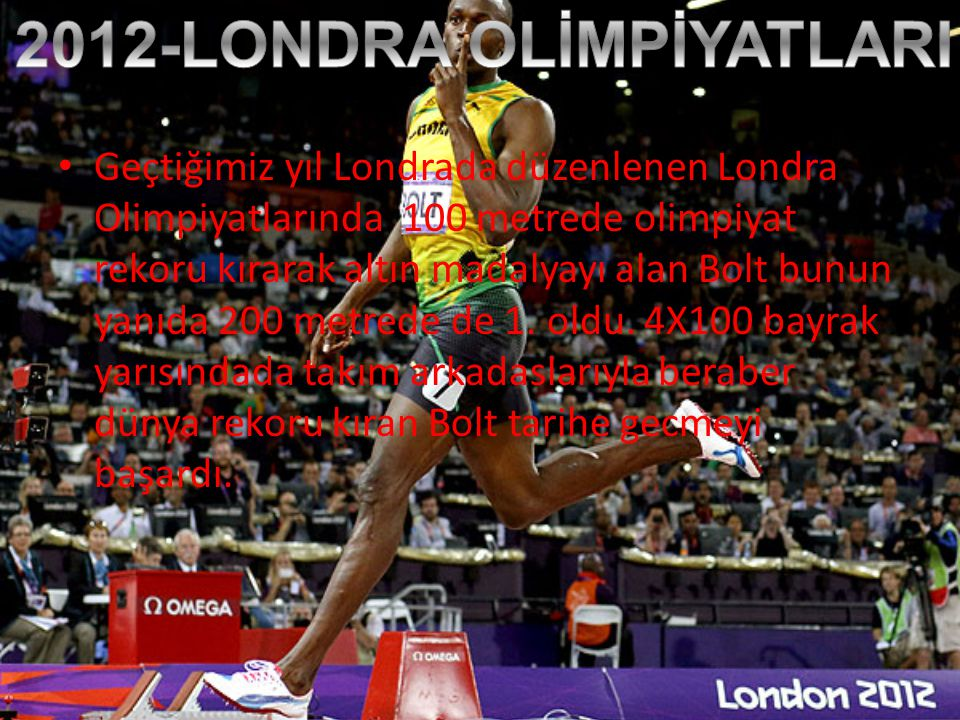 2012-LONDRA OLİMPİYATLARI