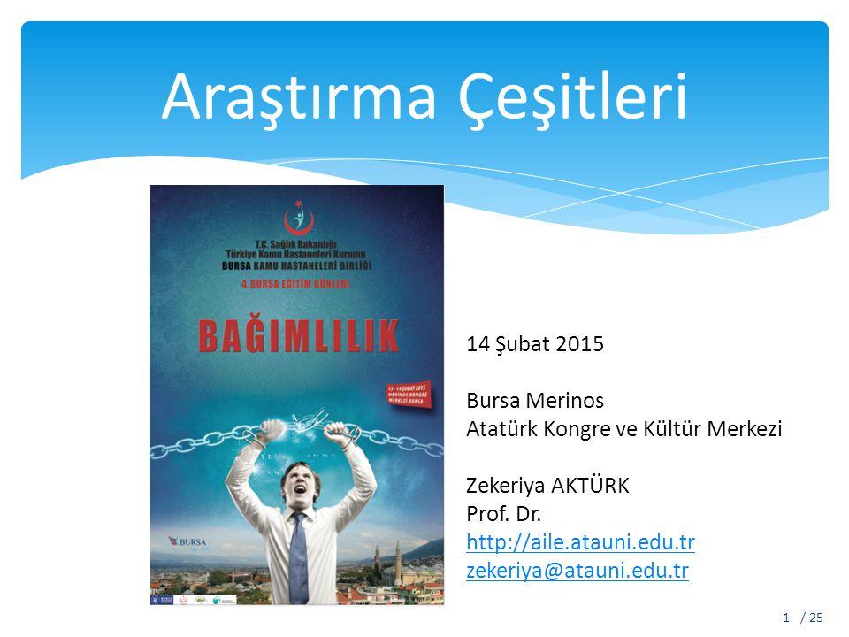 Araştırma Çeşitleri 14 Şubat 2015 Bursa Merinos