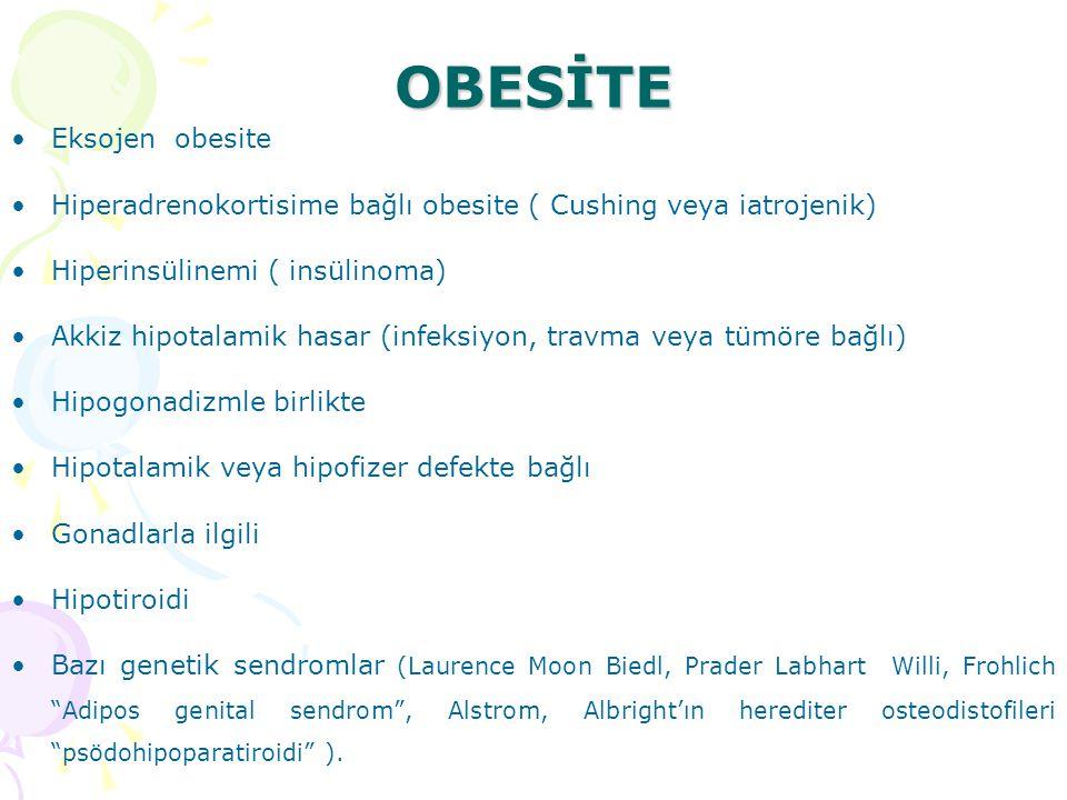 OBESİTE Eksojen obesite