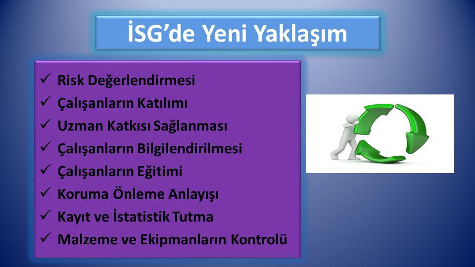 İSG'de Yeni Yaklaşım Risk Değerlendirmesi Çalışanların Katılımı