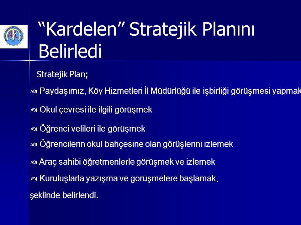 Kardelen Stratejik Planını Belirledi
