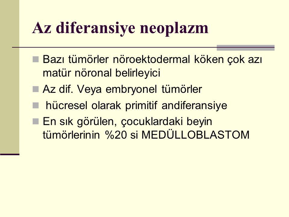 Az diferansiye neoplazm