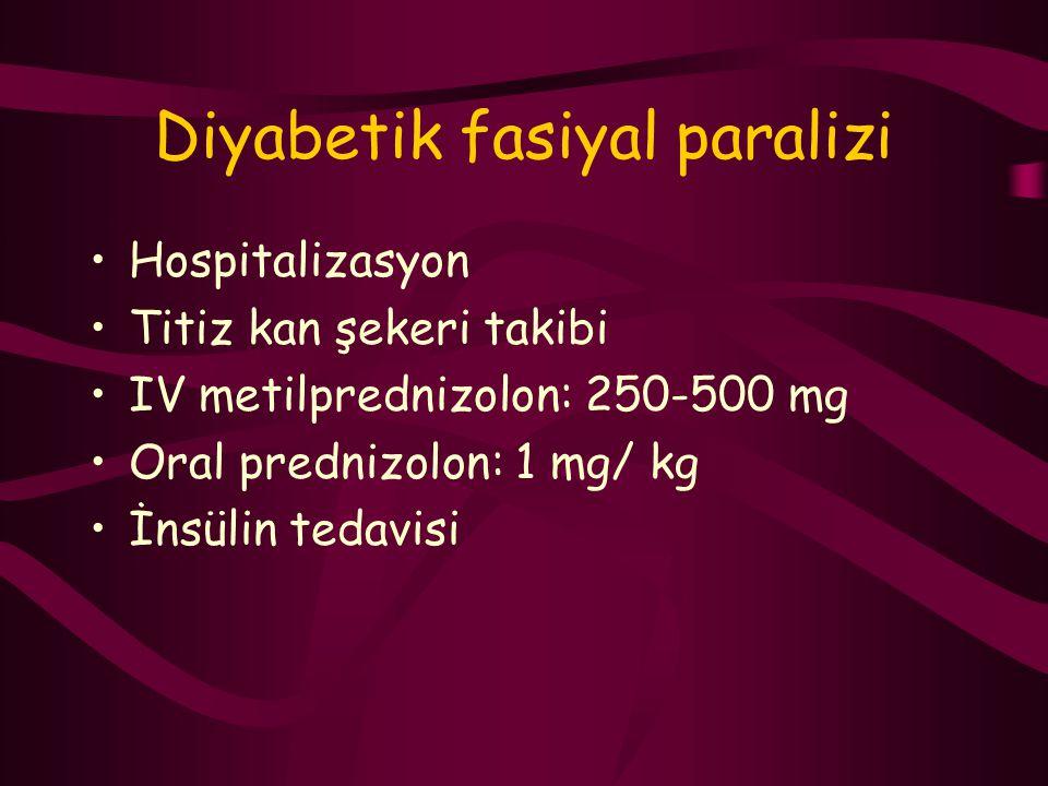Diyabetik fasiyal paralizi
