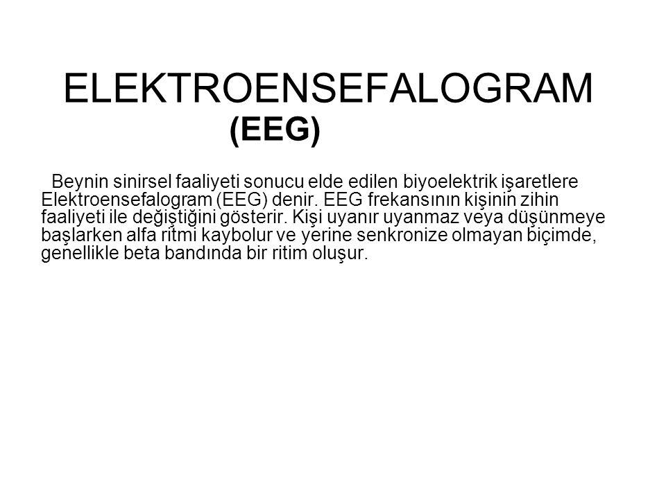 ELEKTROENSEFALOGRAM (EEG)