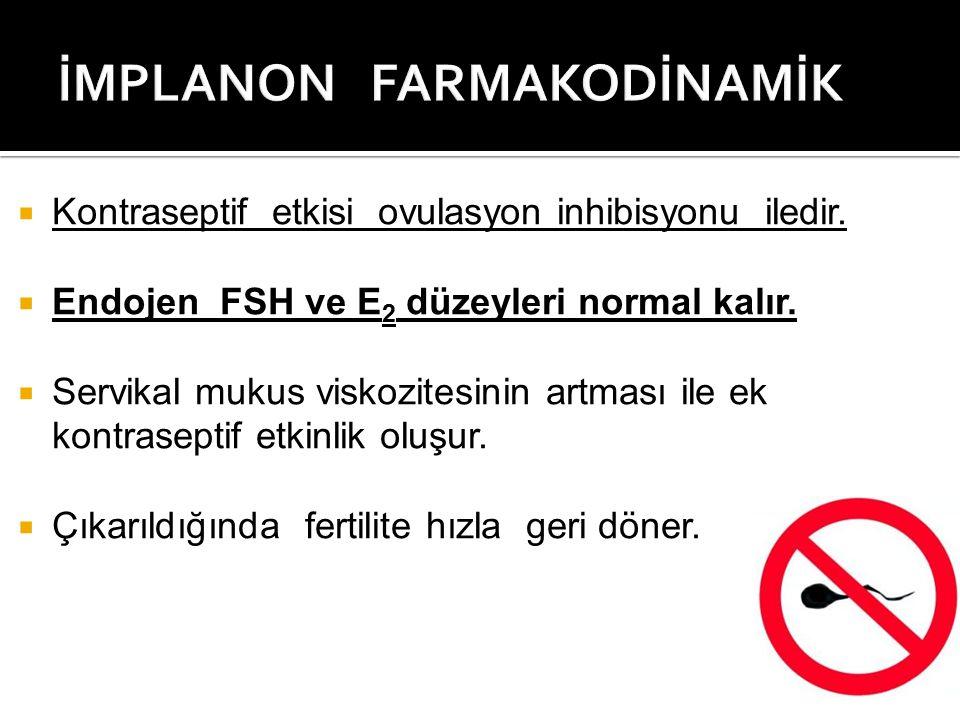 İMPLANON FARMAKODİNAMİK