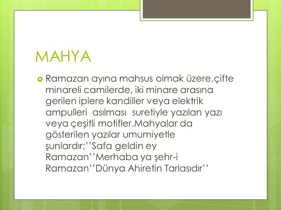 MAHYA