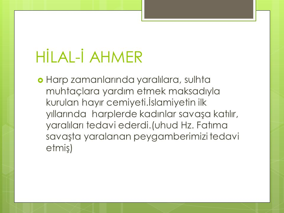 HİLAL-İ AHMER