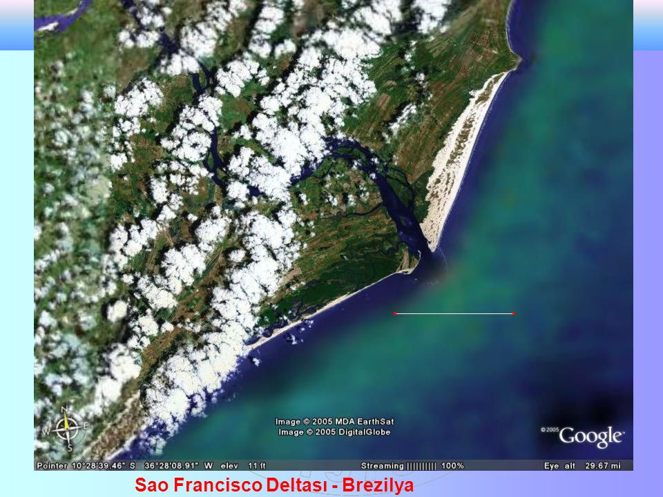Sao Francisco Deltası - Brezilya