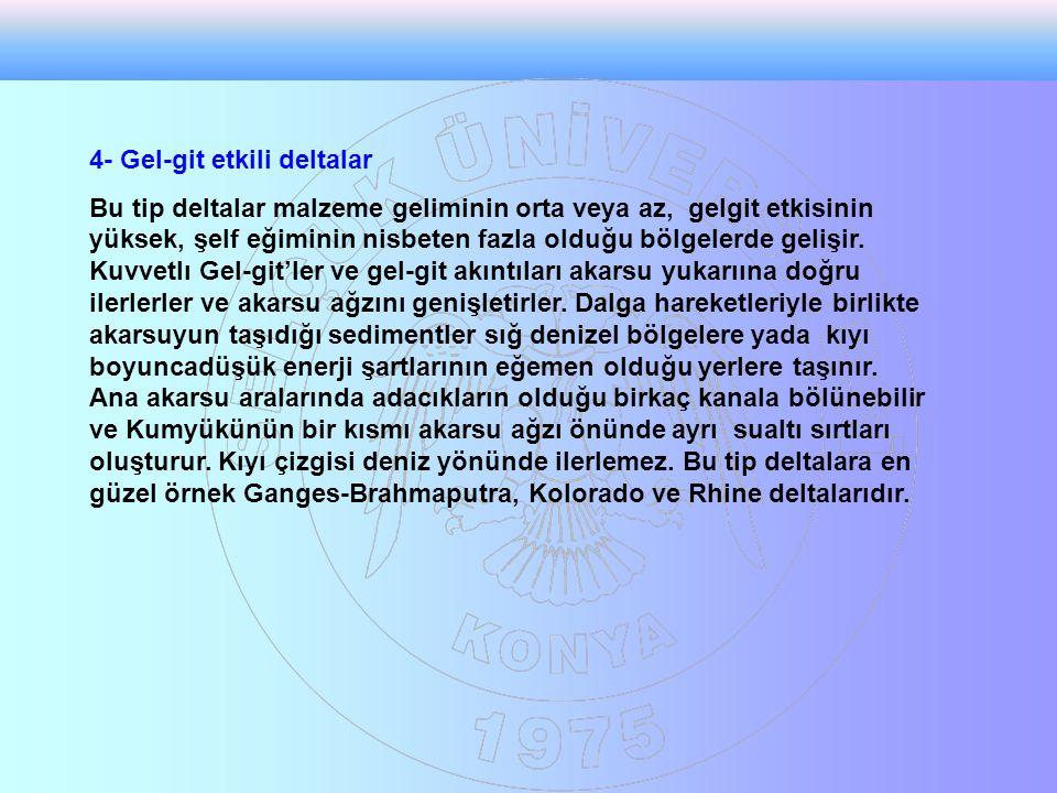 4- Gel-git etkili deltalar