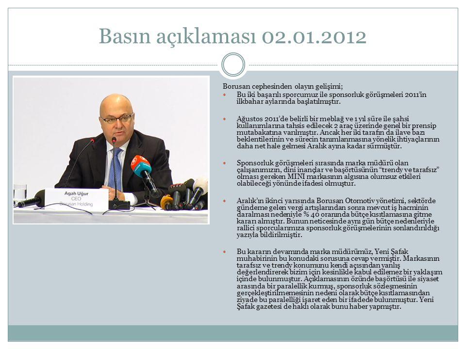 Basın açıklaması 02.01.2012 http://vimeo.com/34457284