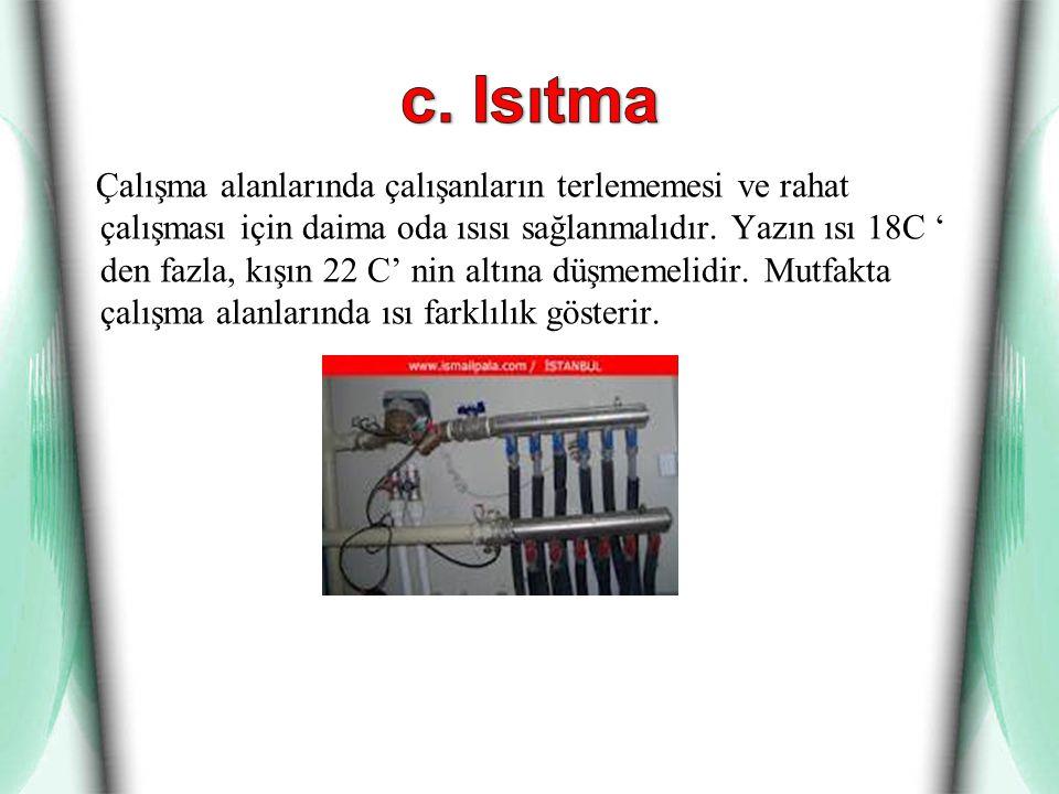 c. Isıtma