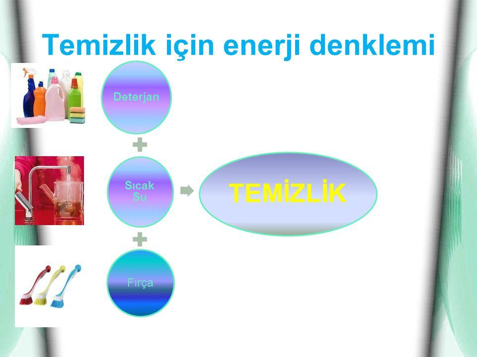 Temizlik için enerji denklemi