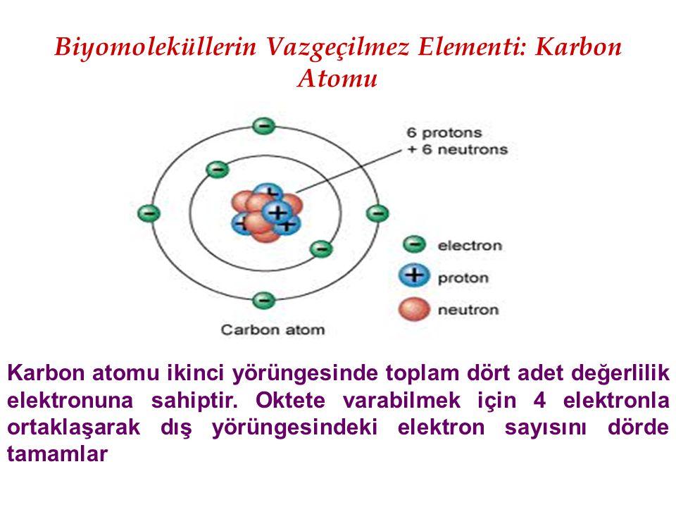 Biyomoleküllerin Vazgeçilmez Elementi: Karbon Atomu