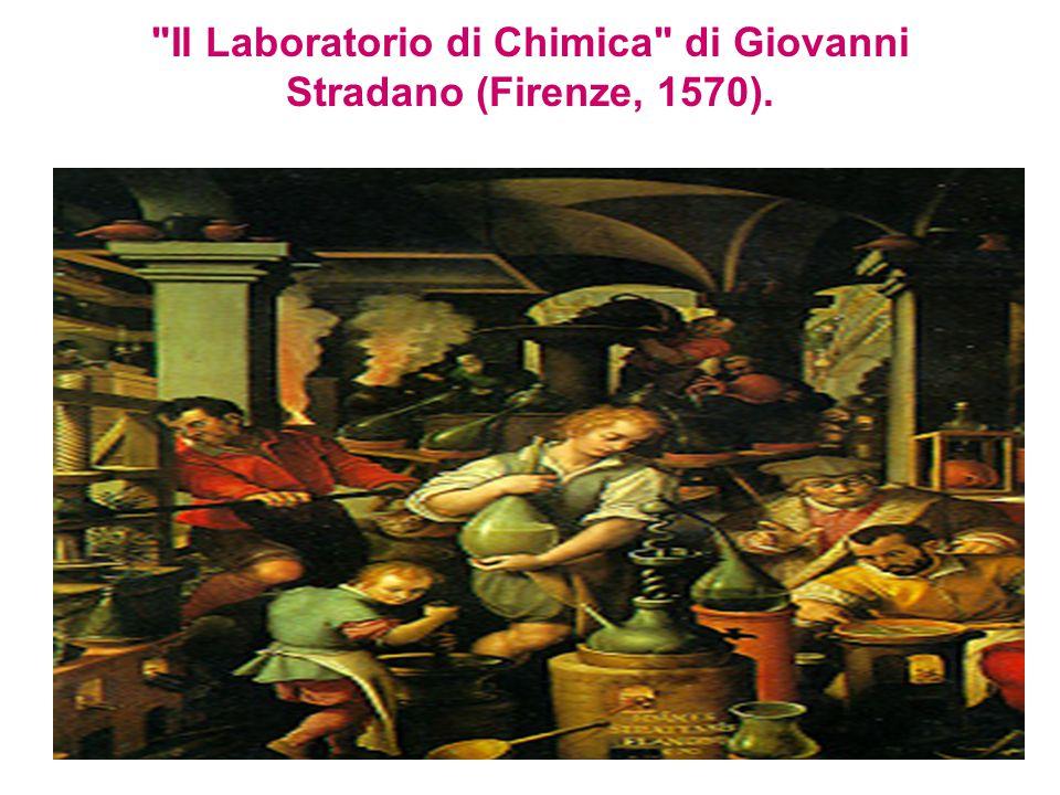 Il Laboratorio di Chimica di Giovanni Stradano (Firenze, 1570).