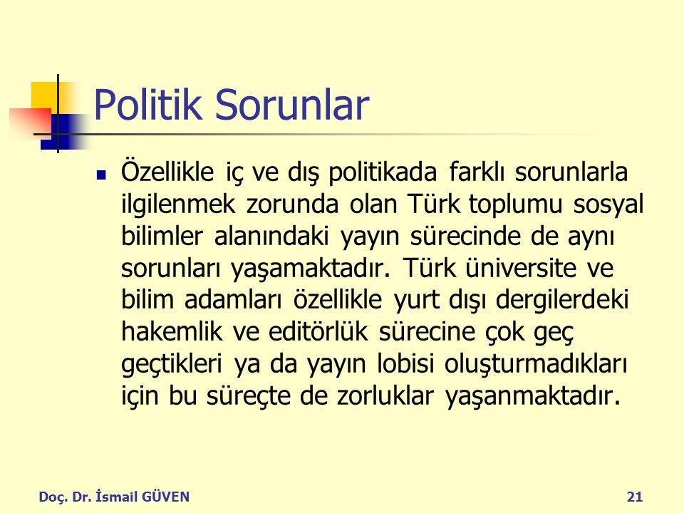 Politik Sorunlar