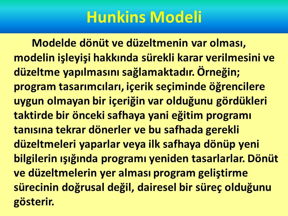Hunkins Modeli