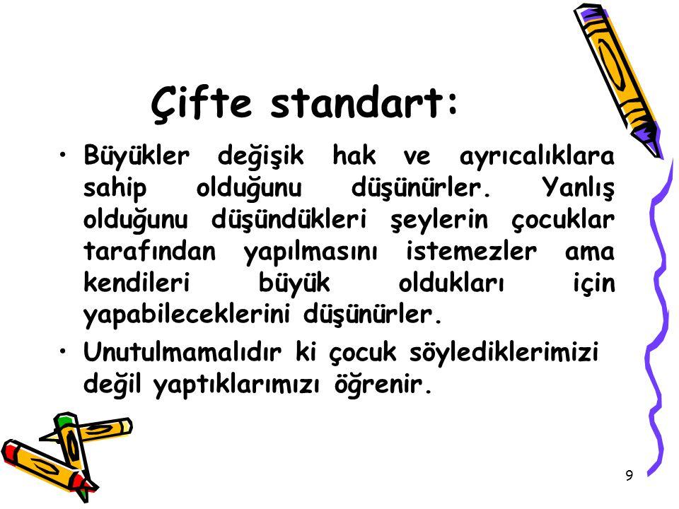 Çifte standart: